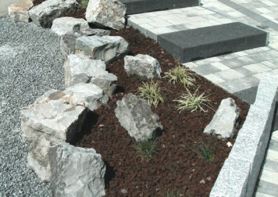 création massif herbacé