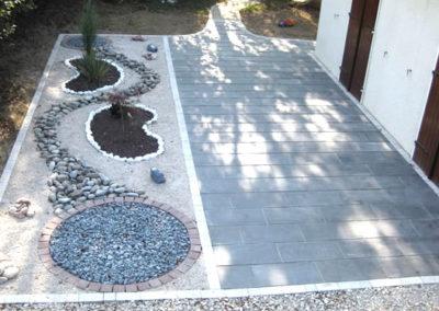 jardin zen sans entretien Besançon, Doubs, Baume les dames